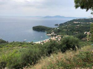 Uitzicht omgeving op Corfu